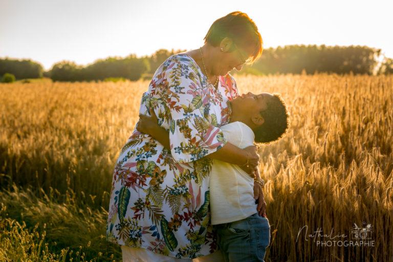 séance famille sunset